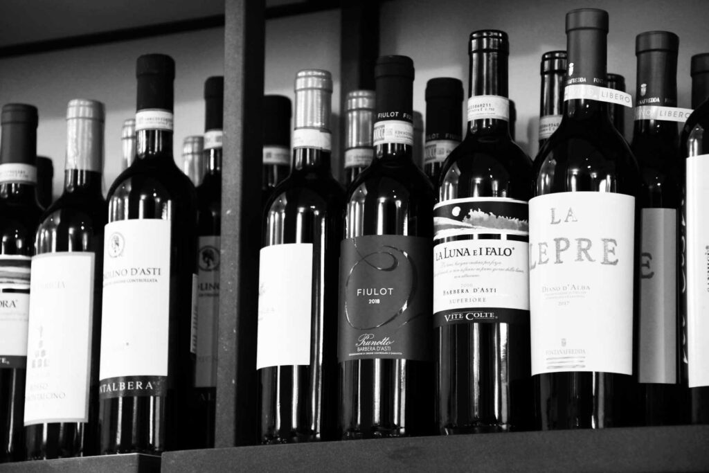 Ristorante Marcello Torino - vini